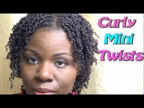 Natural Hair Jumbo Two Strand Flat Twist With Marley Hair Youtube Short Thin Hair Mini Twists Natural Hair Natural Hair Styles For Black Women
