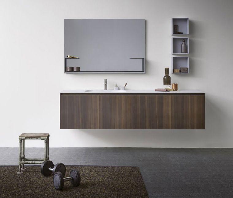Collezione bagno modulare moode by rexa design sanitari e rubinetteria vanity units - Armadietti da bagno ...