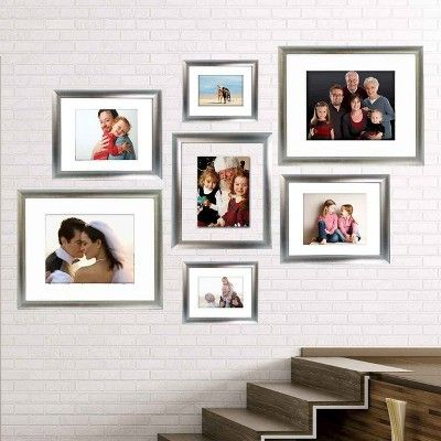 16 X20 Matted For 11 X14 Silver Frame Threshold Size 11x14 Frame Frames On Wall Silver Picture Frames