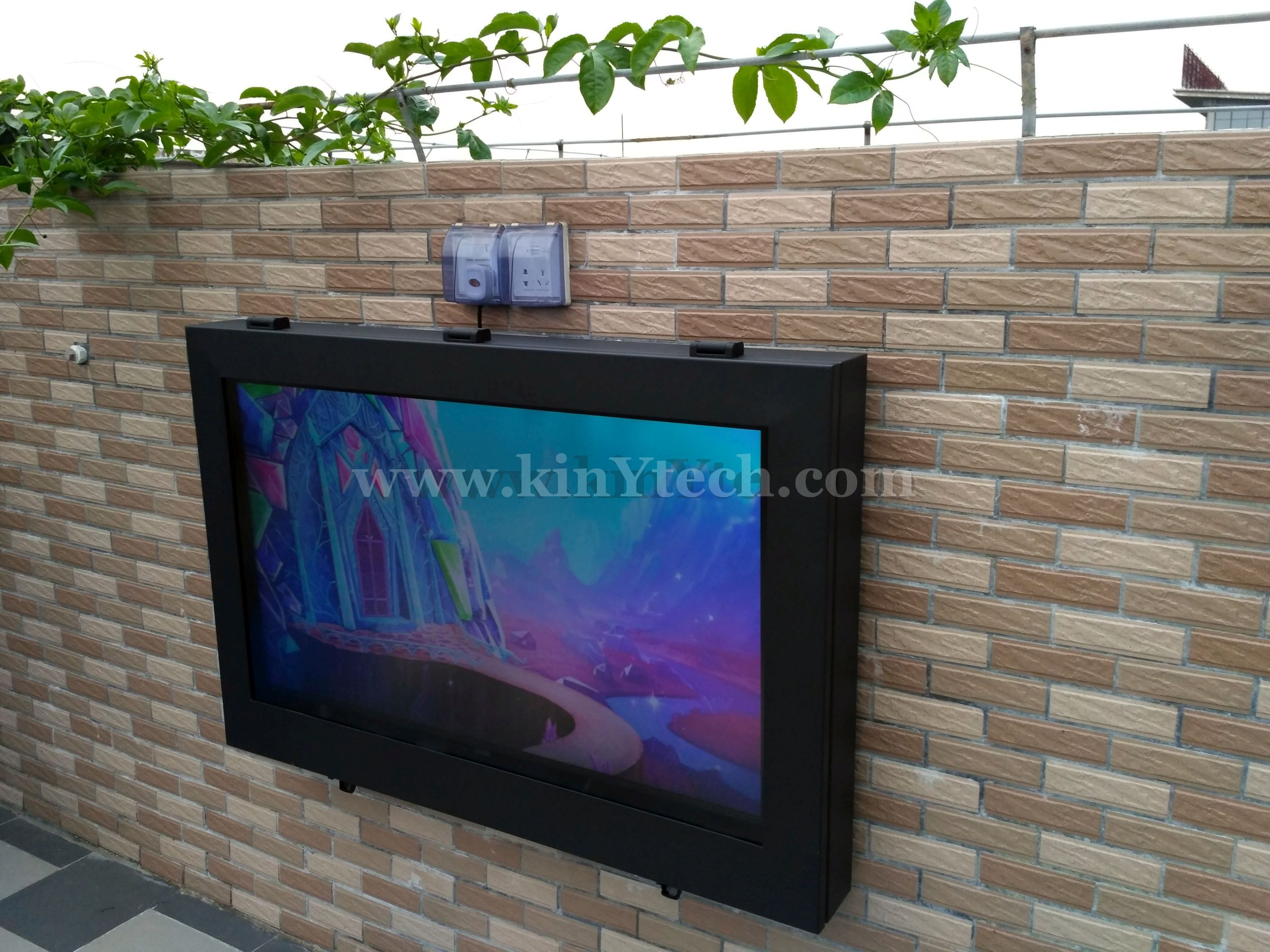 Outdoor Tv Case Diy Outdoor Projector Outdoor Tv Outdoor Tv Enclosure