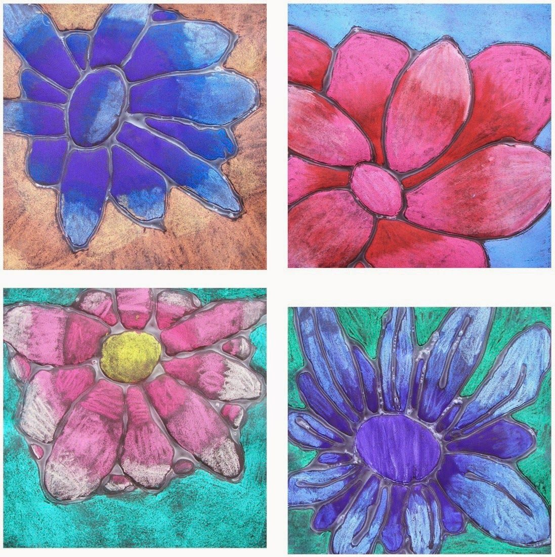 The Rolling Artroom Georgia O Keeffe Flowers 1st 3rd