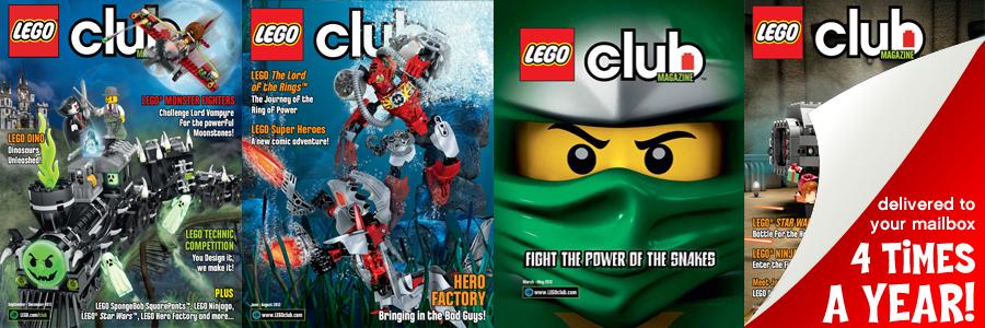 Join the lego club Australia/New Zealand.