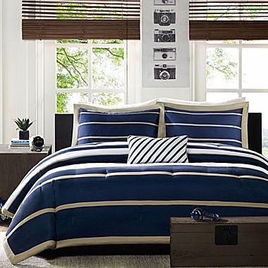 Jcp Mi Zone Garrett Striped Comforter Set Comforter Sets