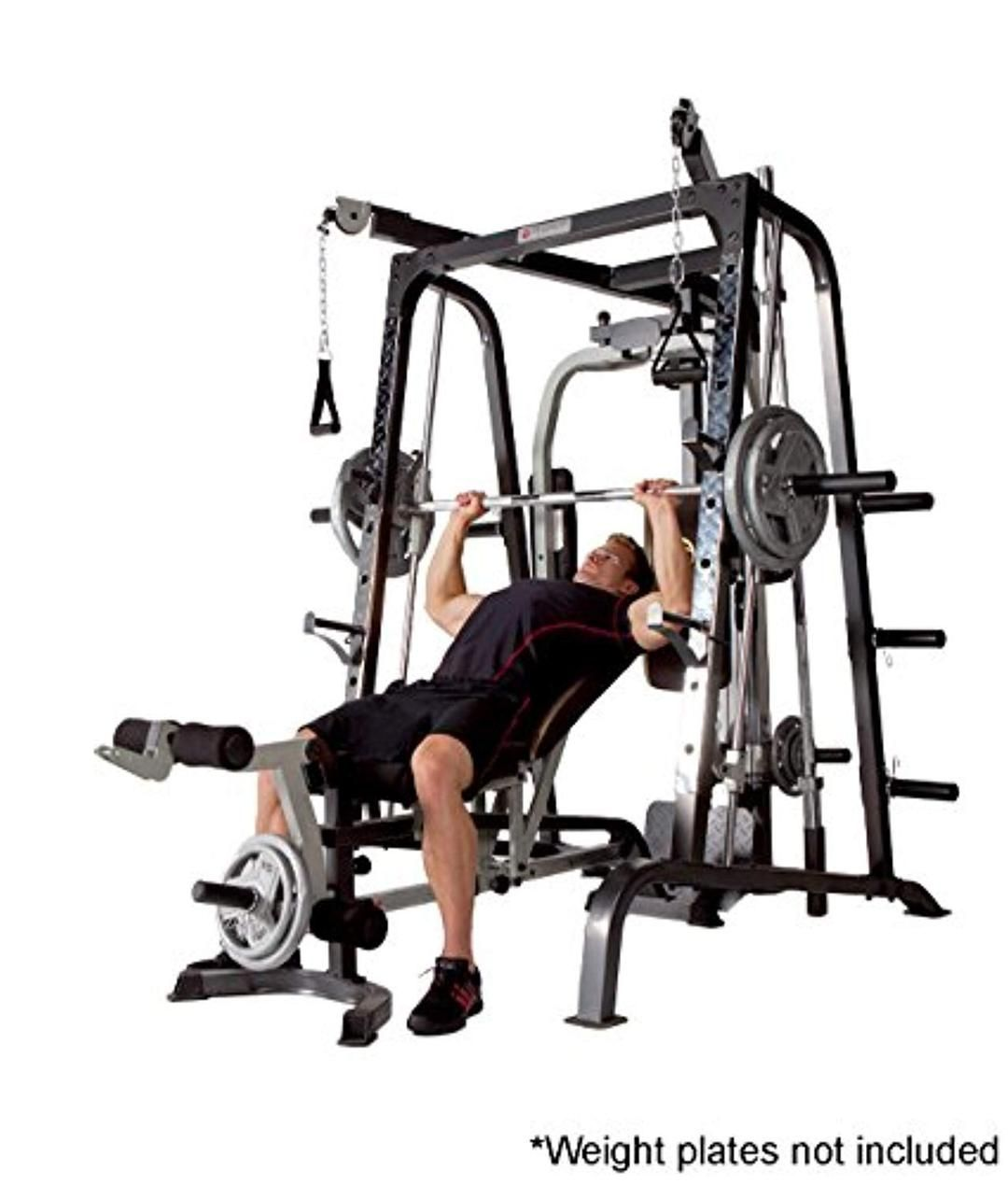 Cage Workout Machine Total Body Training Home Gym System