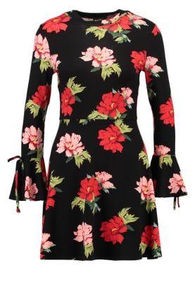 ROSE - Jerseyklänning - black