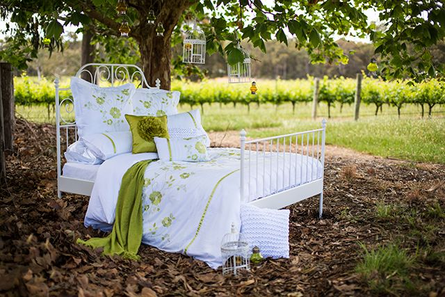 Chartreuse Quilts Harper Quilt Cover Bambury Homewares