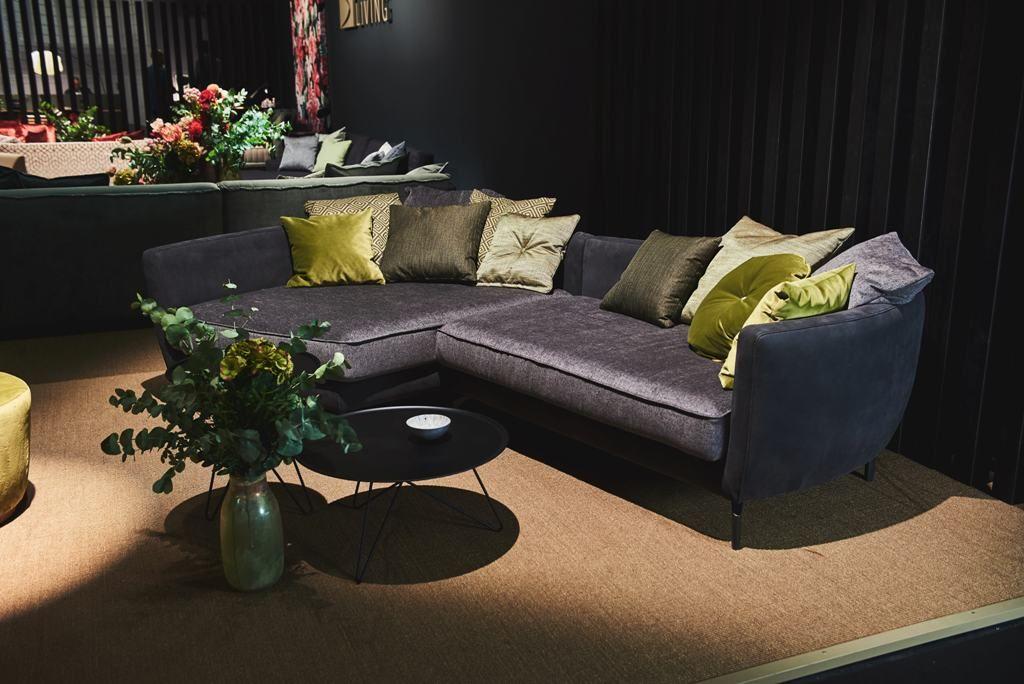 Feel Inspired Immspired Frontside Sofa Leather Velvet