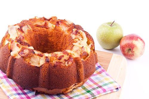 Receta de Bundt Cake de Manzana