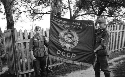 Ussr Flag Ww2 Soviet Flag cap...