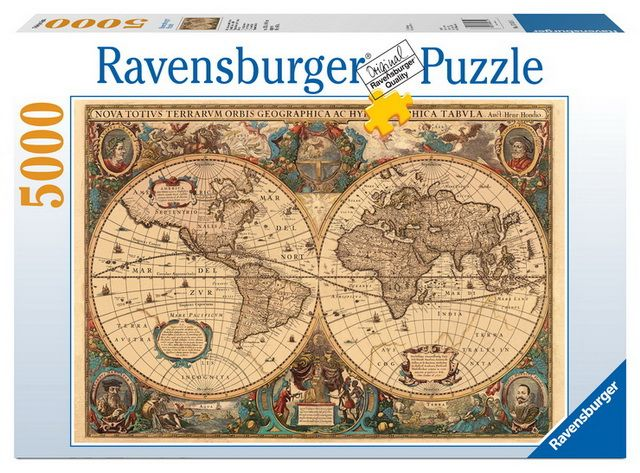 Ravensburger australia nz adult puzzles maps charts ravensburger australia nz adult puzzles maps charts rburg historical world map puzzle gumiabroncs Image collections