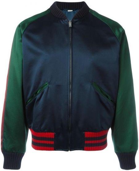 3e6ebd764 Gucci panther bomber jacket, Men's, Size: 50, Blue   StyleTu ...