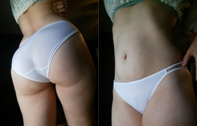 spot panties Wet dirty