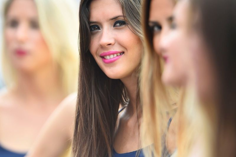 Girls, Argentine MotoGP Race 2015