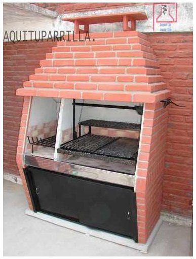 Arquitectura de casas parrilla para su casa parrilla for Parrilla de material para casa