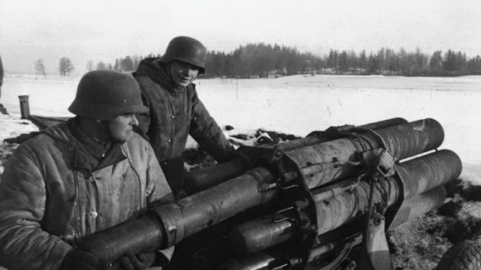 WWI & WWII Military Historian. — ostfeldzug: Nebelwerfer being prepped for the...