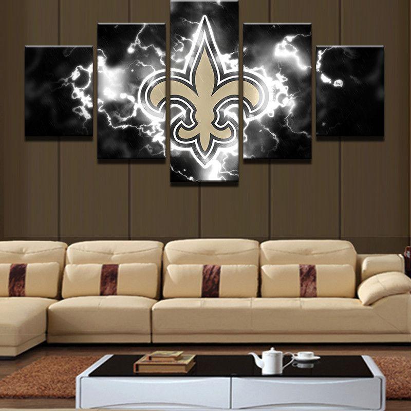 New Orleans Saints Football Canvas Print New Orleans Saints Football Football Canvas New Orleans Saints
