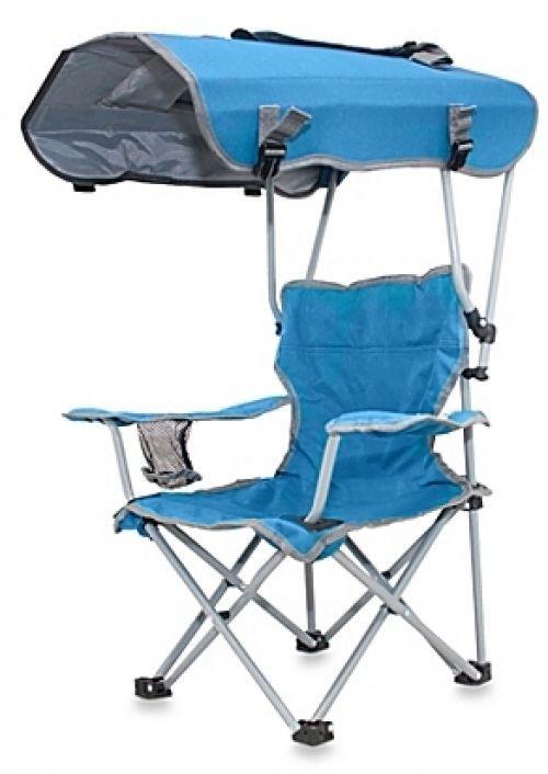 Charmant Outdoor Canopy Beach Chair Blue Patio Camp Garden Deck Folding Fold Kid  Adult #OutdoorCanopyBeachChair