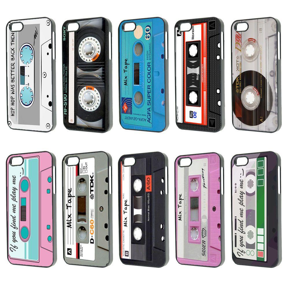 half off 8a30a 012b8 Details about Fun 80s Retro Cassette Mix Tape Phone Case Cover ...
