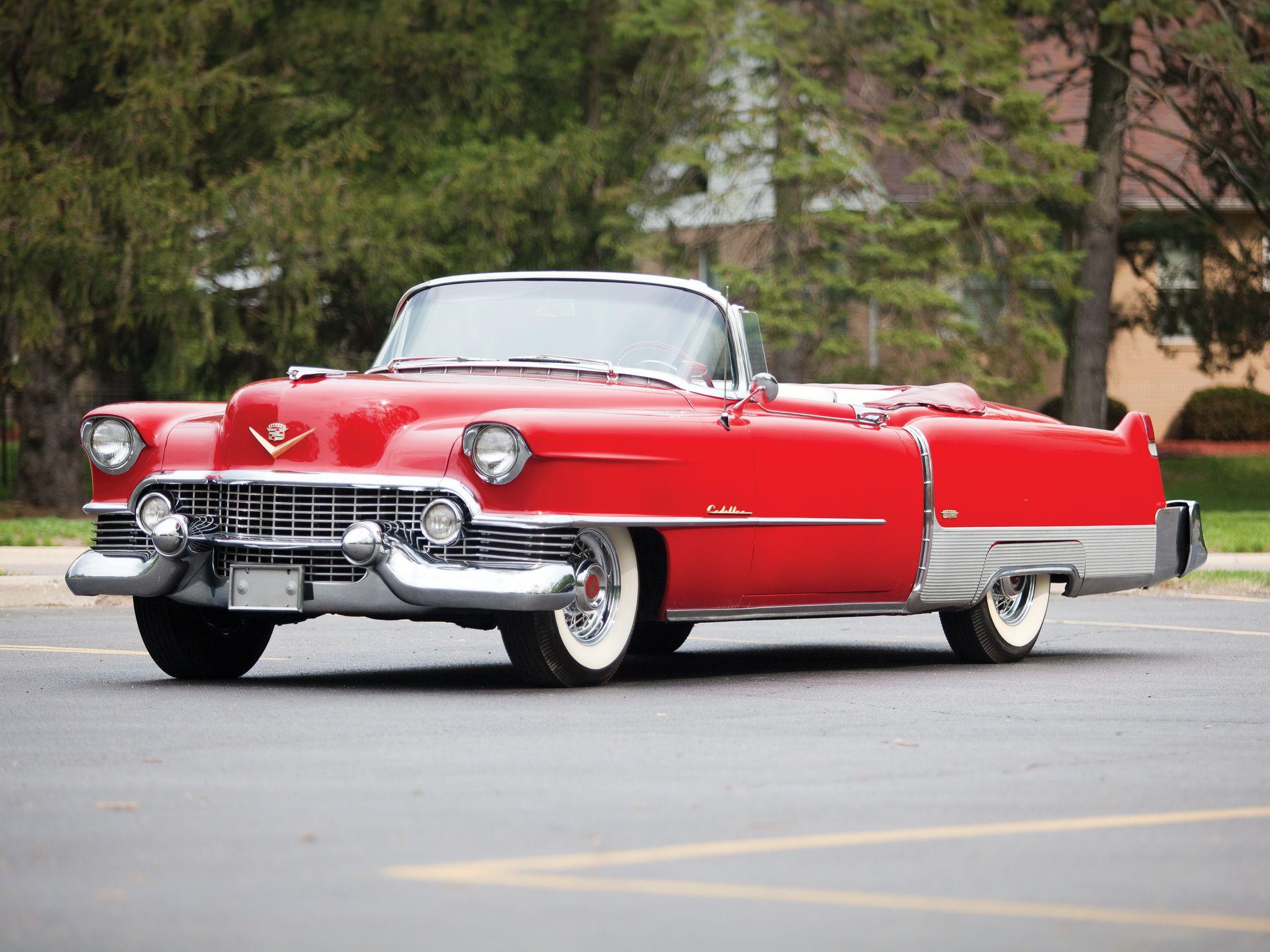 1957 Cadillac Eldorado Seville | 1954 Cadillac Eldorado Convertible ...