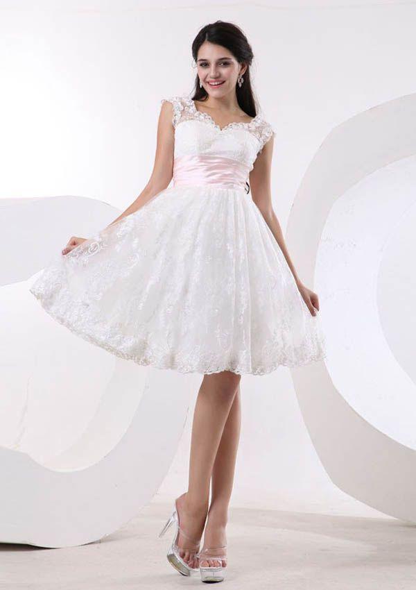 Cute short wedding dresses | Wedding dress | Pinterest