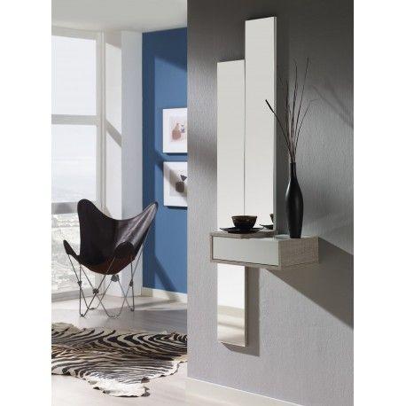 Démarquez-vous avec le meuble du0027entrée moderne TOBA MIRROIR