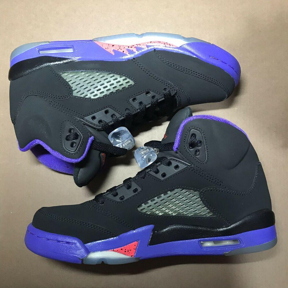 Nike Air Jordan Size 5.5Y Retro Toronto Raptors GS Black