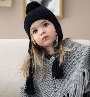 cf605cd4dd76f Modèle bonnet péruvien fille | Mini-Style | Bonnet peruvien, Modele ...