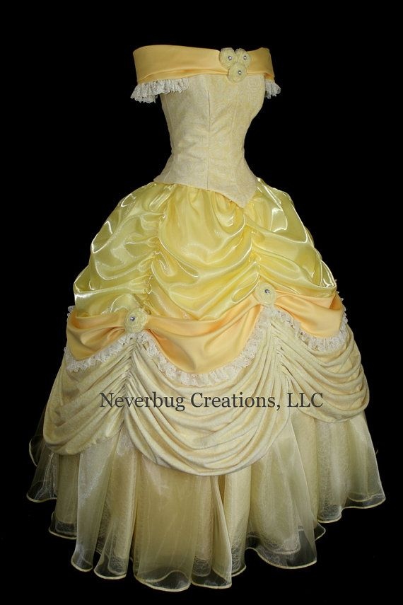Delightful Adult Beauty And The Beast New Parks Costume By NeverbugCreations