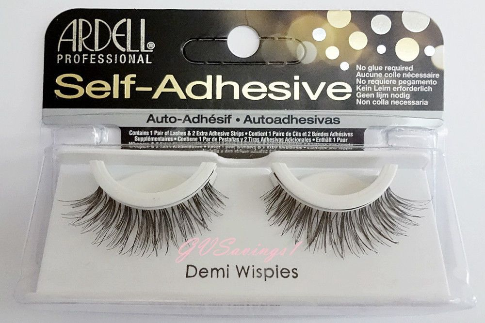 4d55b118e1a Ardell SELF-ADHESIVE DEMI WISPIES False Eyelashes Fake Lashes Natural  Fashion | eBay