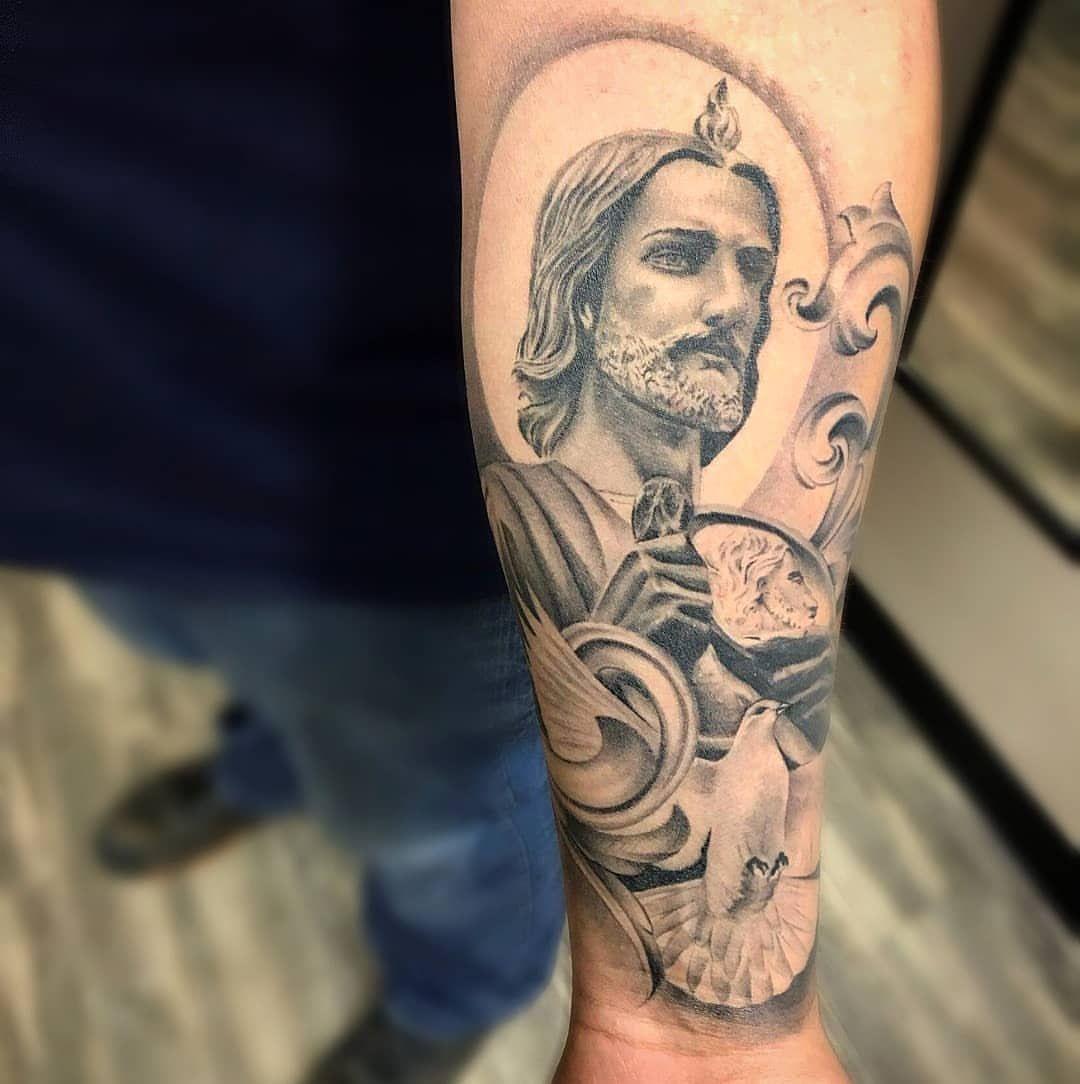 San Judas Tattoo: Diseños De Tatuaje De ángel