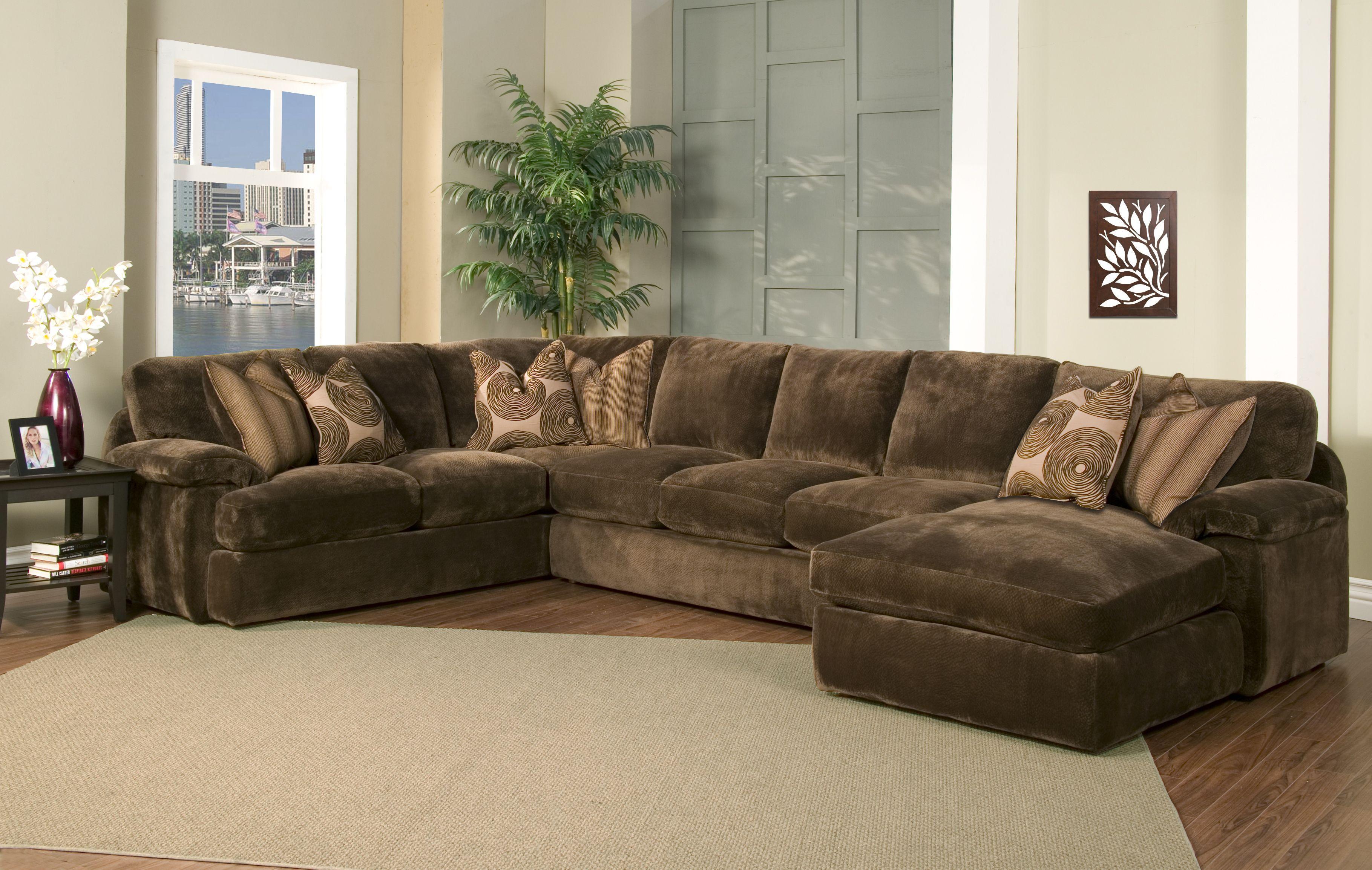 Corduroy Couch Deep Sectional Sofas Sleeper Fabric Cushions