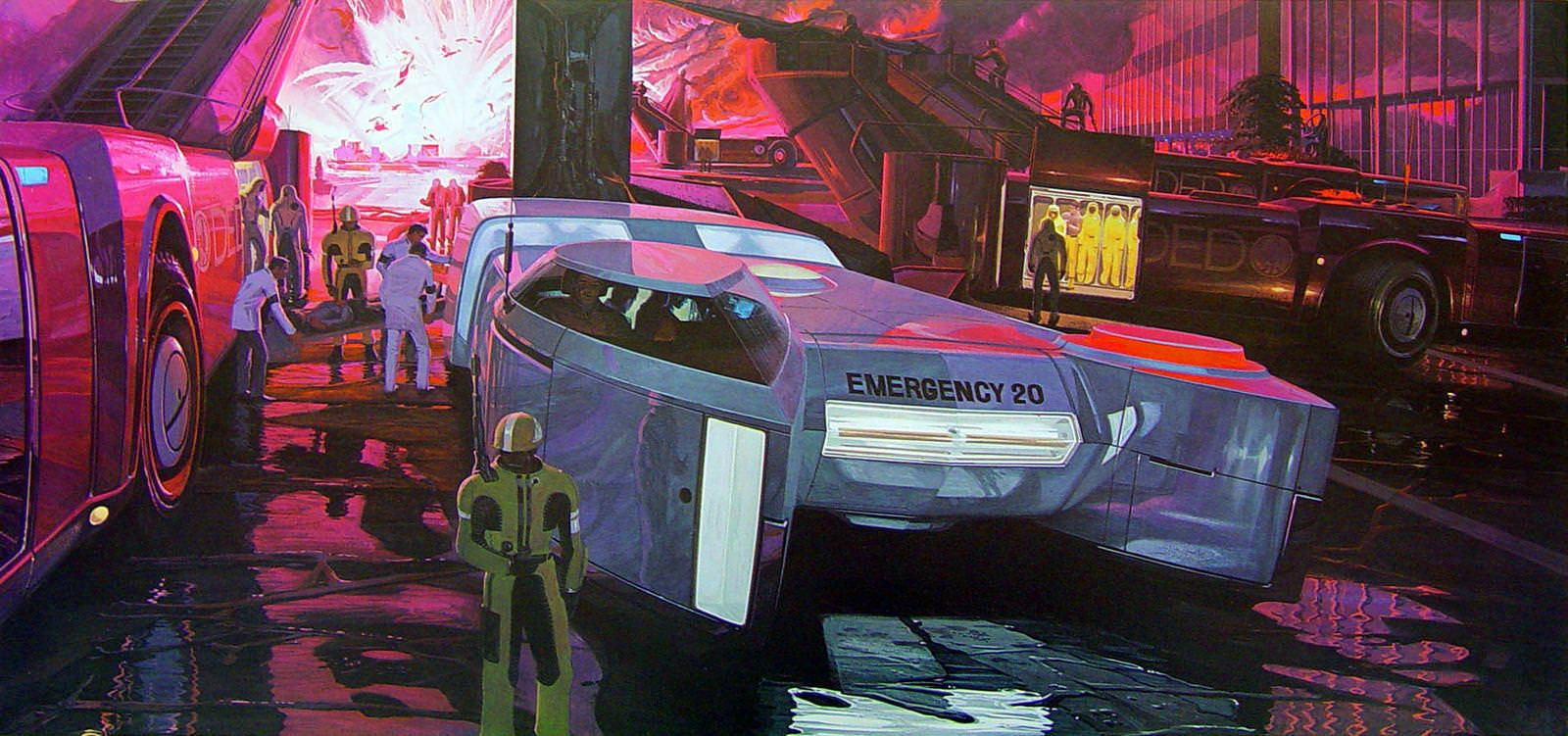 Syd Mead Wallpaper Series 2 Syd Mead Retro Futurism Concept Art