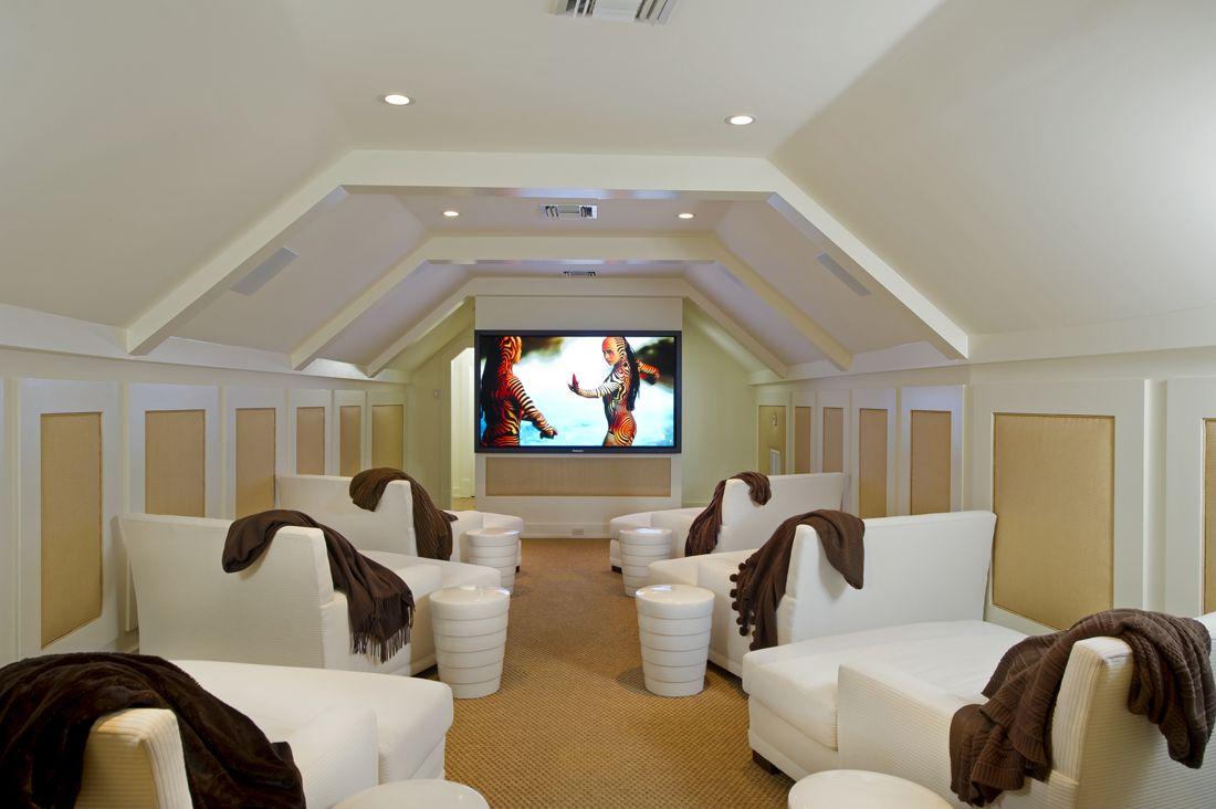 10 Undeniably Fun Media Room Ideas Hunker Small Media Rooms Media Room Seating Home Theater Seating