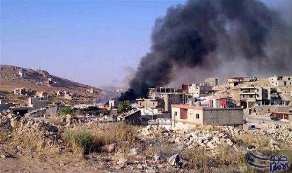 انفجار عبوة بأحد آليات الجيش في راس انفجار عبوة بأحد آليات الجيش في راس السرج عند مدخل عرسال لجهة اللبوة واصابات طفيفه Lebanon Army Troops Raid