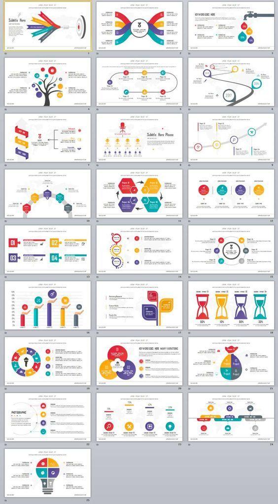 25 best infographics multicolor powerpoint template infographics 25 best infographics multicolor powerpoint template infographics template and ppt template toneelgroepblik Image collections