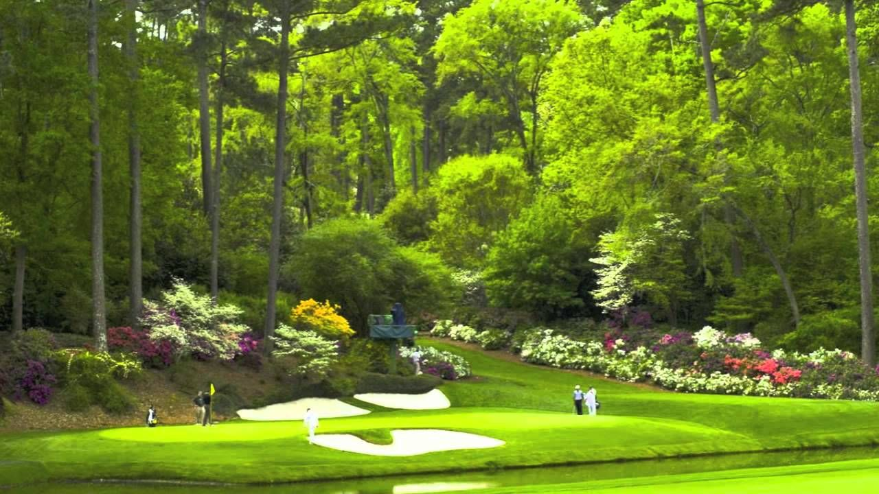The Masters Theme Song [HD] Golf courses, Best golf