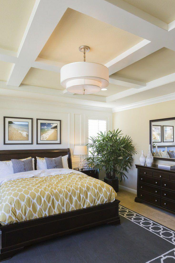 Spacious master bedroom in custom built luxury home