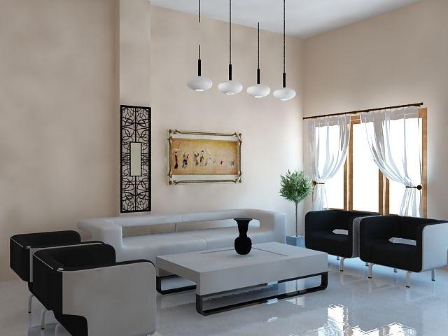 Desain Ruang Tamu Modern Mewah By Griya Solusi
