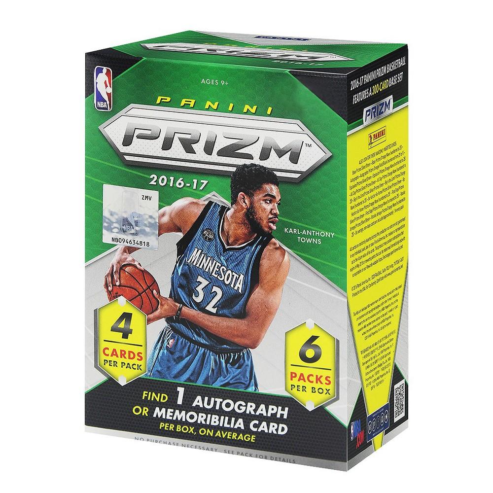 2016 nba prism basketball trading card full box indoor