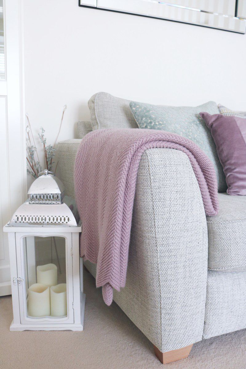 Duck egg and mauve living room | Our home | Pinterest | Mauve ...