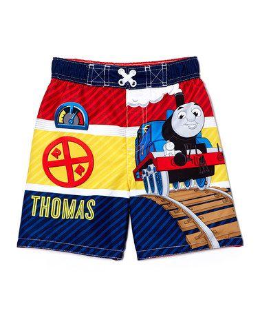 180174c48c Loving this Thomas the Tank Engine Swim Trunks - Toddler on #zulily!  #zulilyfinds