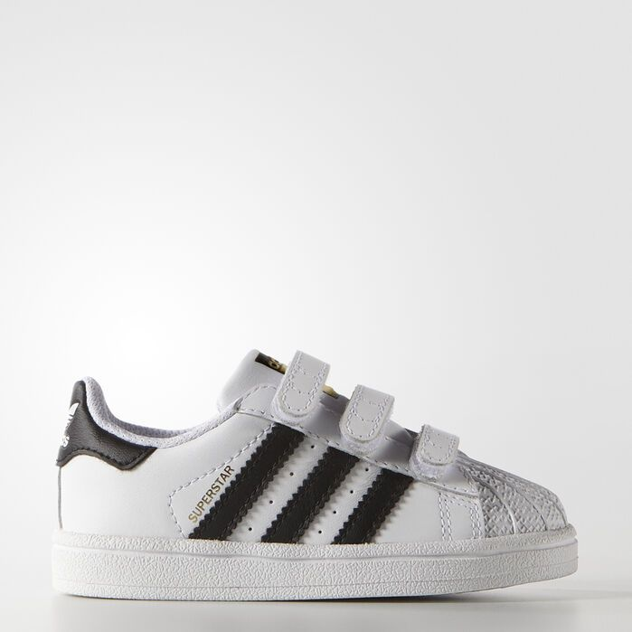 Superstar Foundation Comfort Straps Shoes White Kids | Chaussure ...