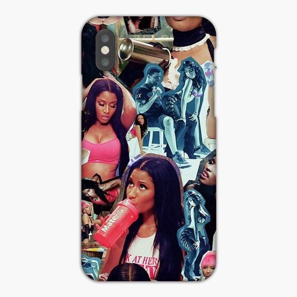 Nicki Minaj Anaconda Collage Photo iPhone XS Case Nicki