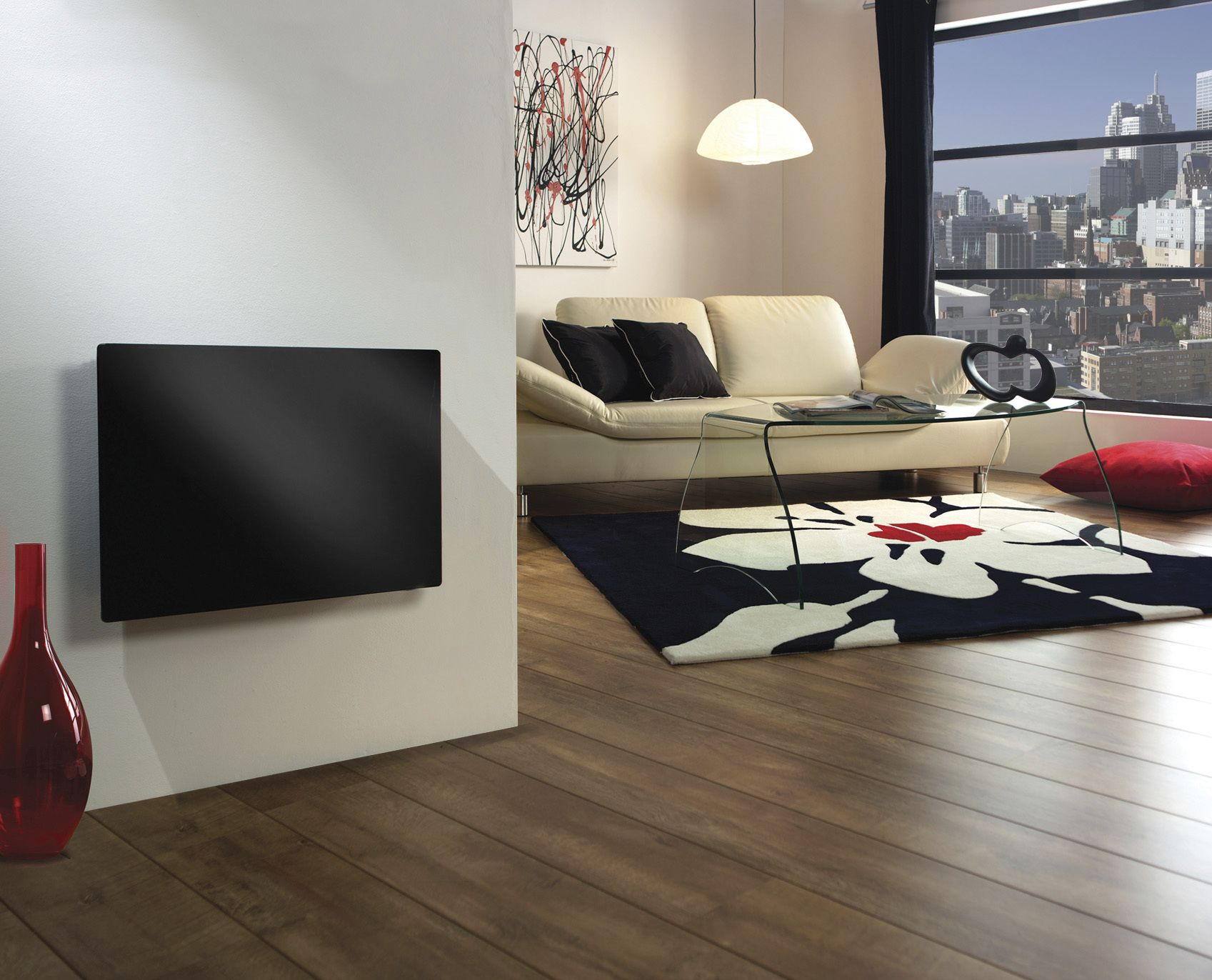 Onyx Heater In Living Room