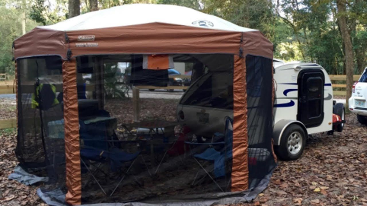 Coleman 12 X 10 Screened Canopy Tent Review   Camping ...