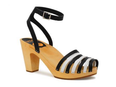Striped Beach Sandal (Swedish Hasbeens)