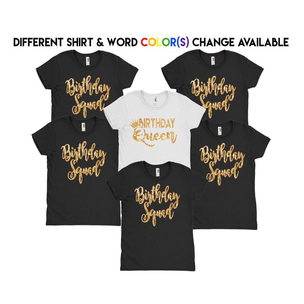 Birthday Squad Shirts // Birthday queen Shirt // Birthday