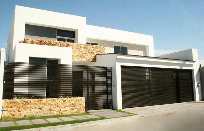 Modern exterior house colors - House Front Principal Ideas House Elevation Fence Ideas Plans Ideas
