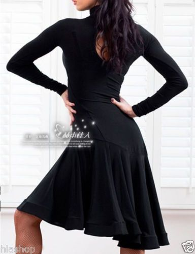 376dbf0205bc Latin Salsa Tango Rumba Cha Cha Ballroom Dance Dress Skirt | eBay ...