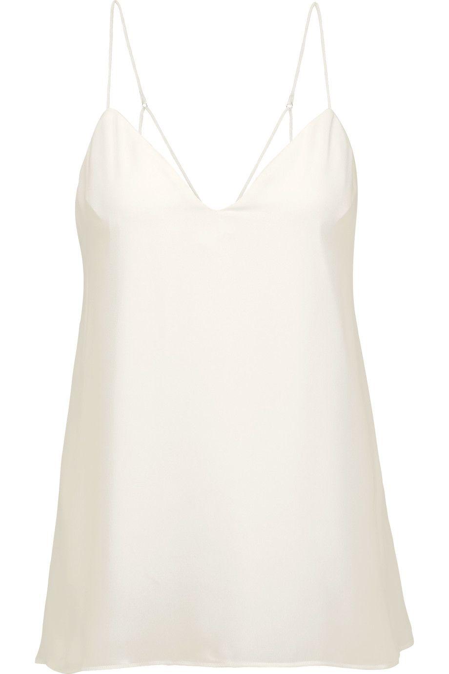 HAUTE HIPPIE The Essential Silk Crepe De Chine Camisole. #hautehippie  #cloth #camisole
